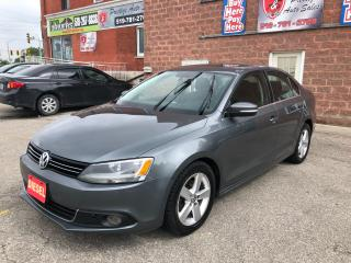 Used 2011 Volkswagen Jetta TDI/DIESEL/CERTIFIED/WARRANTY INCLUDED for sale in Cambridge, ON