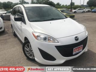 Used 2015 Mazda MAZDA5 GS | 6PASS | SAT RADIO for sale in London, ON