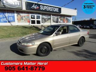 Used 2000 Honda Accord Sedan EX  AS IS (UNCERTIFIED) AS TRADED IN for sale in St Catharines, ON