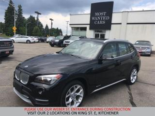 Used 2014 BMW X1 xDrive28i \PANORAMIC SUNROOF \ XLINE \BLUETOOTH for sale in Kitchener, ON