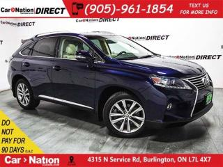 Used 2015 Lexus RX 350 Sportdesign| AWD| SUNROOF| NAVI| LOW KM'S| for sale in Burlington, ON
