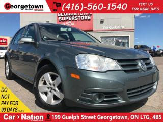 Used 2009 Volkswagen City Golf 2.0L | MANUAL | SUNROOF | HTD SEATS | AUX / USB | for sale in Georgetown, ON