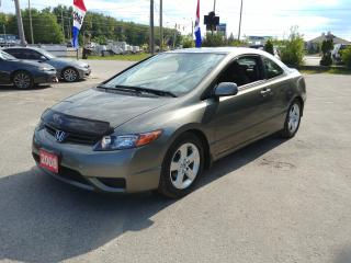 Used 2008 Honda Civic Cpe LX for sale in Barrie, ON