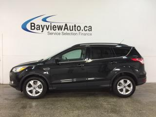 Used 2014 Ford Escape - ECOBOOST! KEYPAD! HTD SEATS! DUAL CLIMATE! SYNC! for sale in Belleville, ON