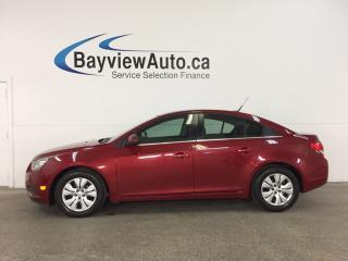 Used 2014 Chevrolet Cruze 1LT - TURBO! REM START! ON STAR! A/C! CRUISE! for sale in Belleville, ON