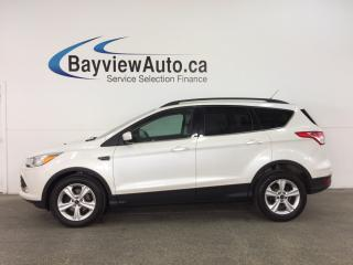 Used 2014 Ford Escape - ECOBOOST! KEYPAD! ALLOYS! HTD SEATS! SYNC! for sale in Belleville, ON