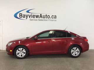 Used 2014 Chevrolet Cruze 1LT - TURBO! A/C! ON STAR! PWR GROUP! CRUISE! for sale in Belleville, ON