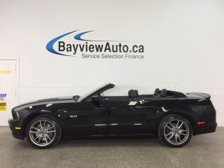 Used 2014 Ford Mustang GT - ALLOYS! BREMBO'S! NAV! SHAKER! SYNC! REVERSE CAM! 3900KM! for sale in Belleville, ON