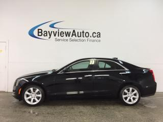Used 2015 Cadillac ATS - ALLOYS! SUNROOF! HTD LTHR! BOSE! REVERSE CAM! for sale in Belleville, ON