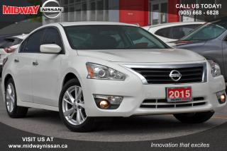 Used 2015 Nissan Altima 2.5 SV SV - Bluetooth|Heated Seats|Sunroof|Backup Camera for sale in Whitby, ON