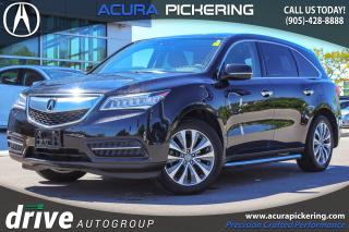 Used 2016 Acura MDX Navigation Package Navigation|Adaptive Cruise Control|Leather Upholstery for sale in Pickering, ON