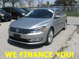 Used 2013 Volkswagen Passat HIGHLINE for sale in North York, ON