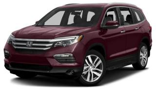 New 2016 Honda Pilot Touring 9AT AWD for sale in Pickering, ON