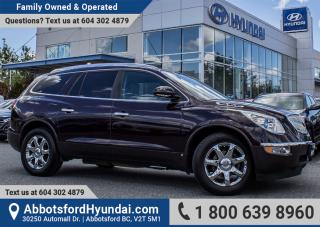 Used 2009 Buick Enclave CXL BC OWNED for sale in Abbotsford, BC