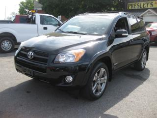 Used 2009 Toyota RAV4 Sport 4x4 AC Sunroof htd leather Reverse Cam for sale in Ottawa, ON