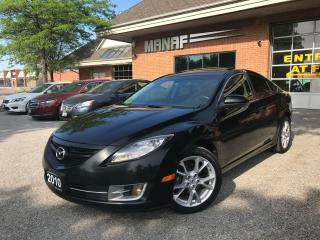 Used 2010 Mazda MAZDA6 GT Performance, Sunroof, Leather, Heated Seats for sale in Concord, ON