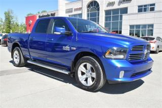 Used 2015 RAM 1500 SPORT CREW CAB 4X4 for sale in Sherbrooke, QC