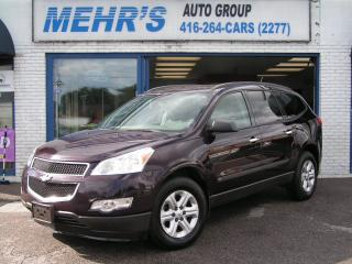 Used 2010 Chevrolet Traverse 1LS 8 Pass Loaded Ont truck for sale in Scarborough, ON