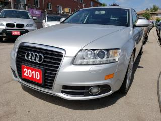 Used 2010 Audi A6 Low KMs/S-Line/AWD/Bk-Up Camera/Leather/Roof for sale in Scarborough, ON