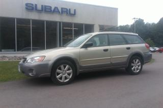Used 2006 Subaru Outback 2.5i for sale in Minden, ON