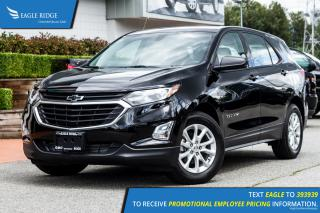 New 2018 Chevrolet Equinox LS Heated Seats, Remote Start, Crusie Control for sale in Port Coquitlam, BC