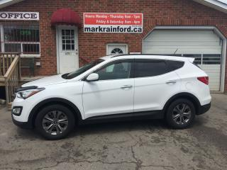 Used 2015 Hyundai Santa Fe Sport Bluetooth Heated Cloth USB Aux input for sale in Bowmanville, ON