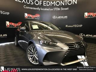 New 2018 Lexus IS 300 Premium package for sale in Edmonton, AB