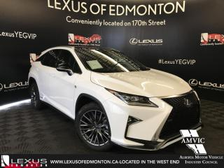 New 2018 Lexus RX 450h F SPORT SERIES 3 for sale in Edmonton, AB