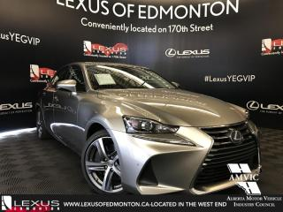 New 2018 Lexus IS 350 Executive Package for sale in Edmonton, AB