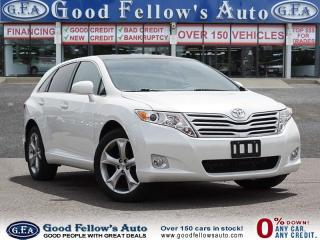Used 2011 Toyota Venza LEATHER SEATS, PANORAMIC ROOF, REARVIEW CAMERA for sale in North York, ON
