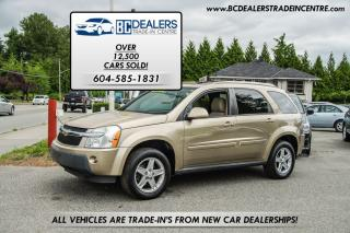 Used 2006 Chevrolet Equinox LT AWD, Leather, Sunroof, No Accidents, Loaded! for sale in Surrey, BC
