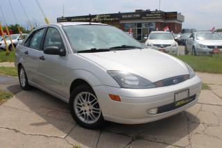 Used 2003 Ford Focus V. LOW KM/ EXTRA SET OF RIMS&TIRES /CLEAN CARPROOF for sale in Oakville, ON