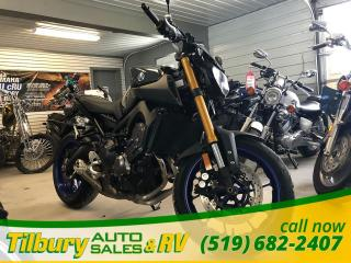 Used 2014 Yamaha FZ-09 847cc in-line 3-cylinder engine. SPORT. for sale in Tilbury, ON