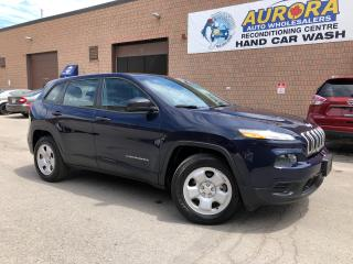 Used 2014 Jeep Cherokee SPORT - 4X4 - UCONNECT / BLUETOOTH - ONLY 57k for sale in Aurora, ON