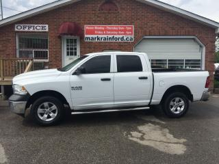 Used 2013 RAM 1500 ST 4x4 V6 Crew Bluetooth Trailer Hitch Clean for sale in Bowmanville, ON