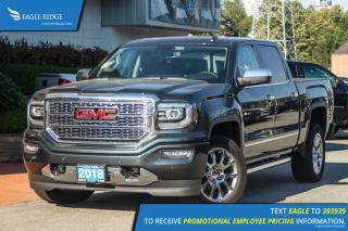 New 2018 GMC Sierra 1500 Denali Navigation, Heated & Ventilated Seats, Sunroof for sale in Port Coquitlam, BC