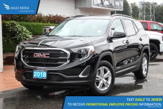 New 2018 GMC Terrain SLE Diesel Navigation, Heated Seats, Panoramic Sunroof for sale in Port Coquitlam, BC