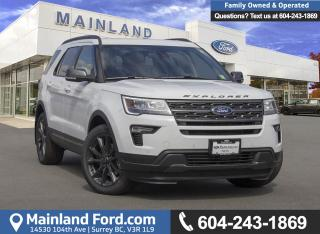 New 2018 Ford Explorer XLT for sale in Surrey, BC