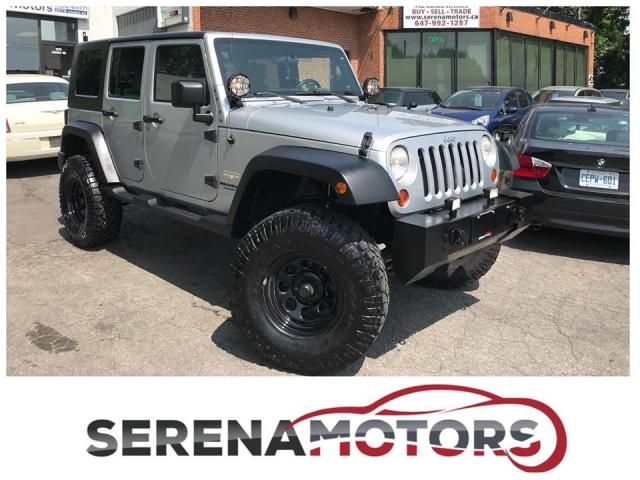 2008 Jeep Wrangler SAHARA UNLIMITED | LIFTED | 4X4 | NO ACCIDENTS