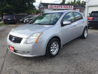 Used 2009 Nissan Sentra LOWKM/Automatic/Clean Carproof/Gas Saver/Certified for sale in Scarborough, ON