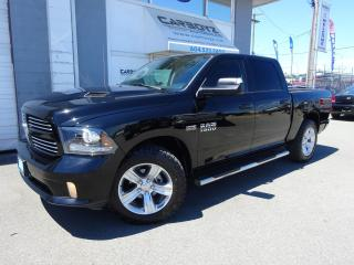 Used 2014 Dodge Ram 1500 Sport Crew 4x4, Nav, Sunroof, Leather Cooled Seats for sale in Langley, BC