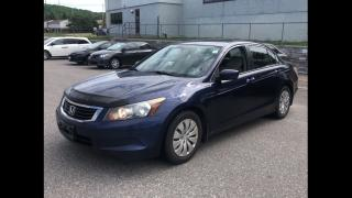 Used 2008 Honda Accord LX AUTO 1OWNER for sale in York, ON