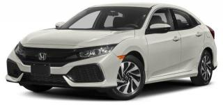 New 2018 Honda Civic Hatchback LX CVT for sale in Pickering, ON