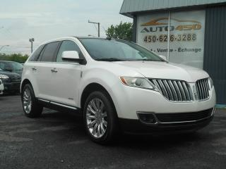Used 2011 Lincoln MKX ***CUIR,TOIT PANO,4X4*** for sale in Longueuil, QC