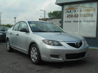 Used 2007 Mazda MAZDA3 ***GX,AUTOMATIQUE,AIR CLIMATISE*** for sale in Longueuil, QC