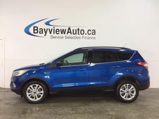 Used 2017 Ford Escape - ALLOYS! KEYPAD! ECOBOOST! HTD SEATS! SYNC! for sale in Belleville, ON