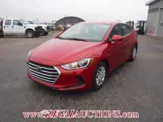 Used 2017 Hyundai ELANTRA LE 4D SEDAN AT 2.0L for sale in Calgary, AB