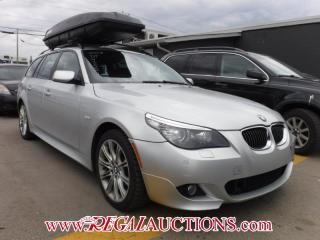 Used 2008 BMW 5 SERIES 535XI 4D WAGON AWD for sale in Calgary, AB
