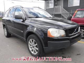 Used 2004 Volvo XC90 T6 4D Utility AWD for sale in Calgary, AB