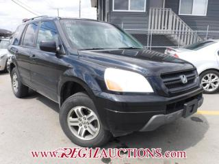 Used 2004 Honda PILOT EX 4D UTILITY for sale in Calgary, AB